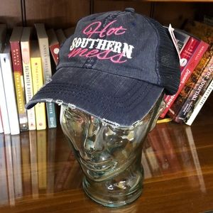 "NWT ""Hot Southern Mess"" hat"